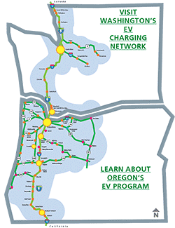 Electric Highways Map